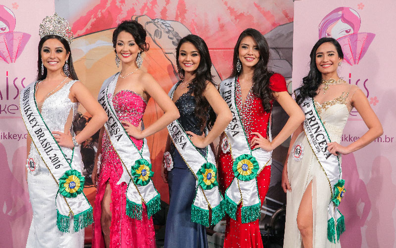 Vencedoras do Miss Nikkey Brasil 2016