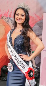 Jéssica Kiomi de Oliveira é a Miss Nikkey São Paulo 2016
