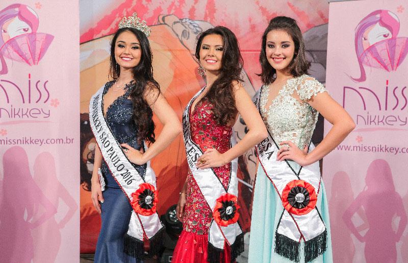 Vencedoras do Miss Nikkey São Paulo 2016