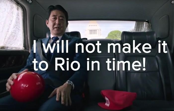 """""""Não vou chegar ao Rio a tempo"""""""