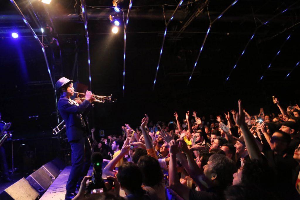 Show da banda Tokyo Ska Paradise Orchestra em São Paulo