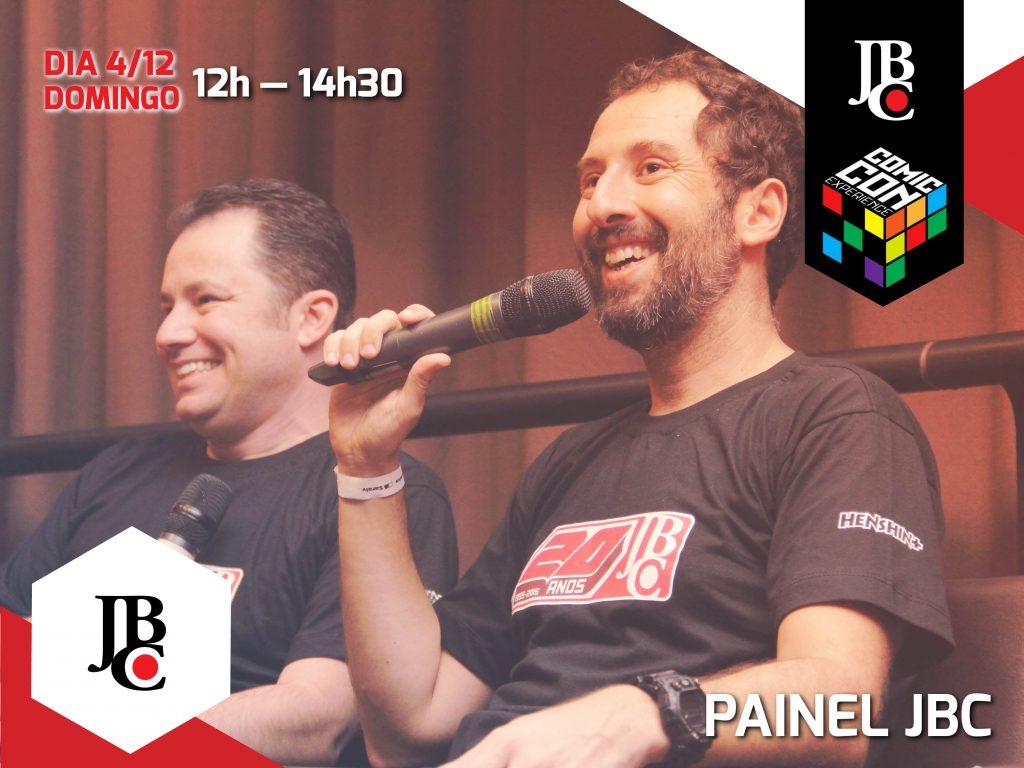 Painel JBC com os editores Cassius Medauar e Marcelo del Greco
