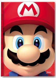 Capa do Sketchbook com o Mario
