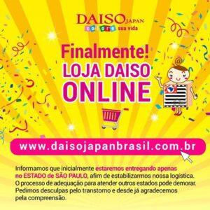 28bfcb9f5 Daiso inaugura loja online - Made in Japan