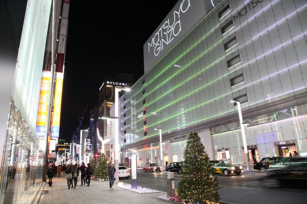 Complexo de lojas Matsuya Ginza
