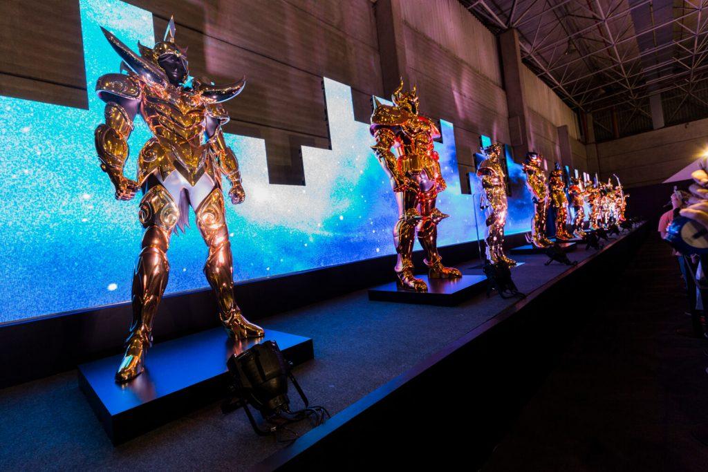 A exposição Tamashii World Tour teve início no Brasil e ainda passa por mais seis países até retornar para o Japão