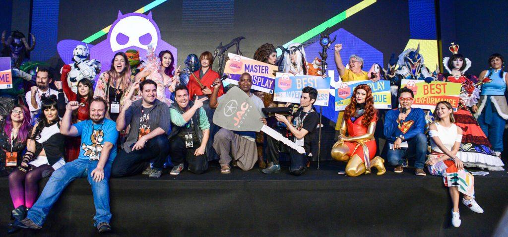 Finalistas do Concurso Cosplay Experience 2016