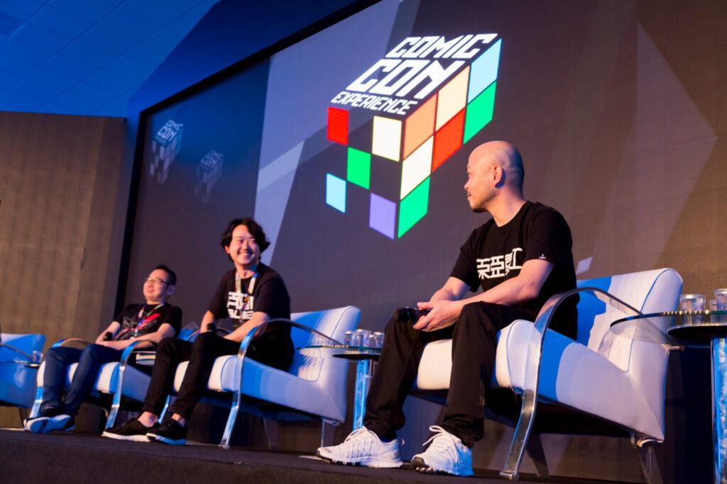 Kenichi Yamamoto, Yoshihiko Yamazaki e o autor do mangá Tsutomu Nihei participaram de painéis na CCXP
