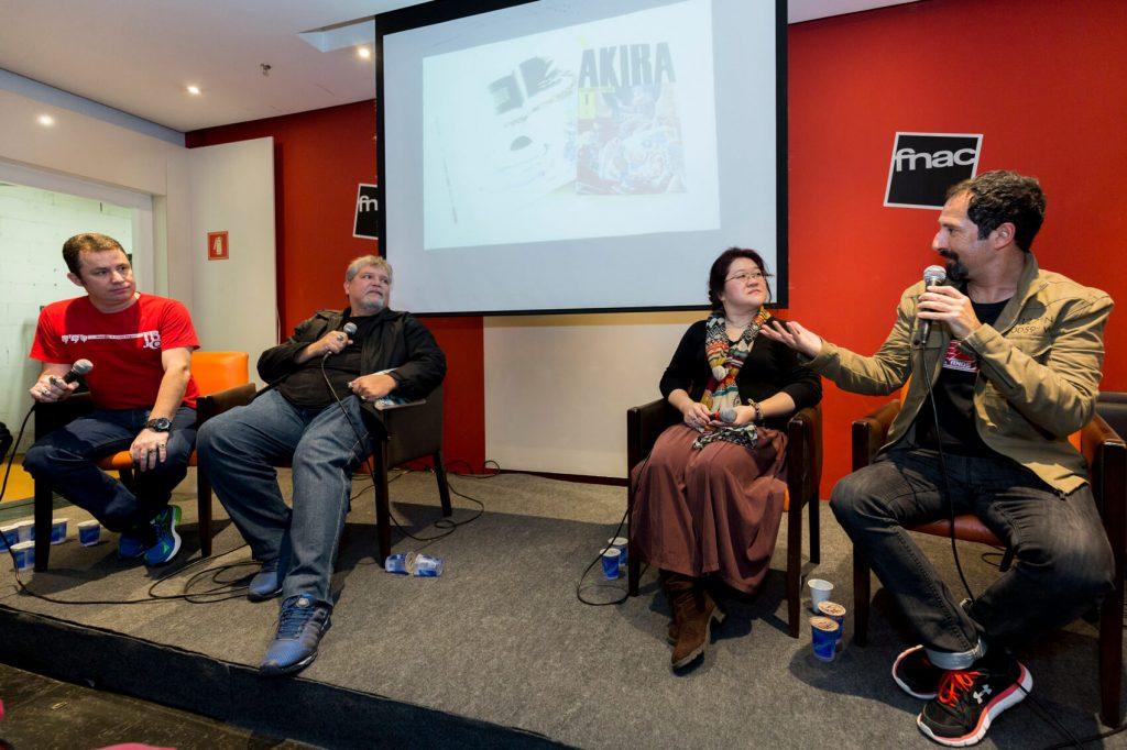 Convidados do lançamento de Akira