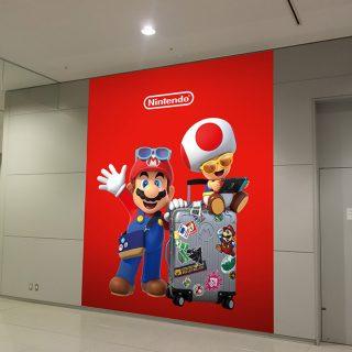 Mario no Aeroporto de Kansai