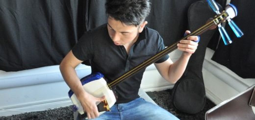 shamisen player yuzo akahori