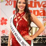 Larissa Lopes, a Miss Nikkey Brasil 2017