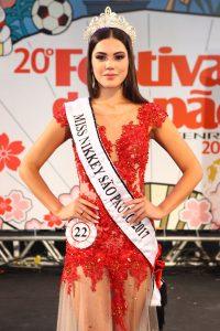 Miss Nikkey São Paulo 2017, Tatiana Saori Takamoto dos Santos