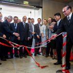 Fita inaugural na inauguração do Centro Cultural Aliança