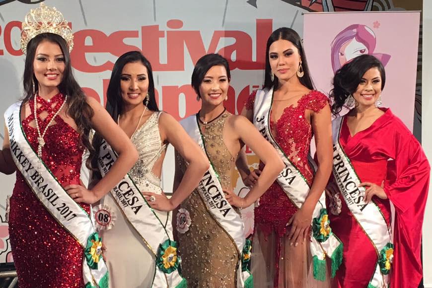 Vencedoras do Miss Nikkey Brasil 2017