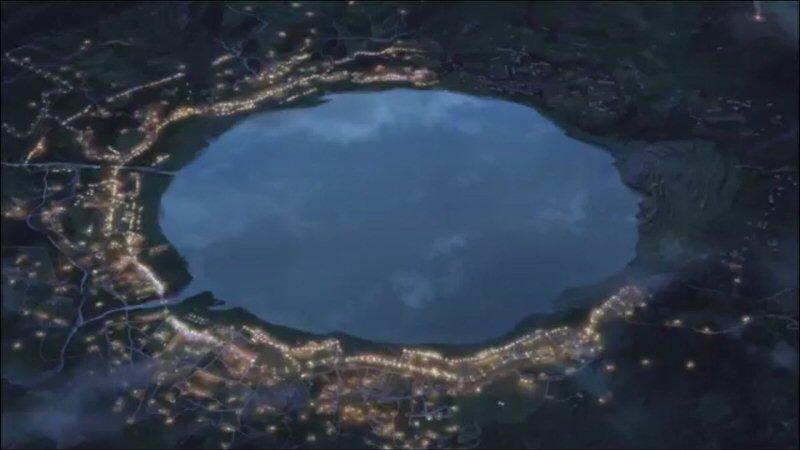Lago de Itomori Your Name.