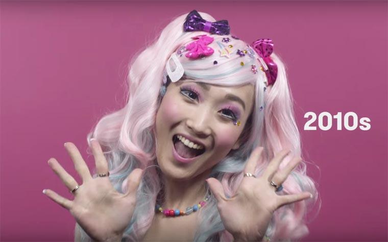A moda dos anos 2010 no Japão