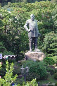 Estátua de bronze de Takamori Saigo