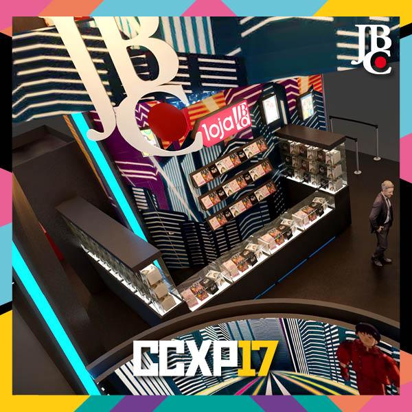 JBC na CCXP 2017