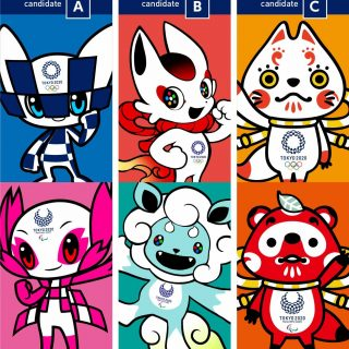 candidatos a mascote Tokyo 2020