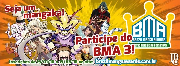 concurso de mangás BMA