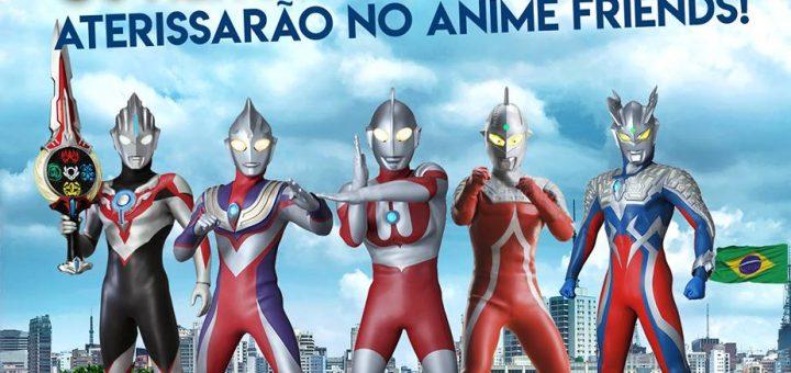 Ultraman Heroes no Anime Friends 2018