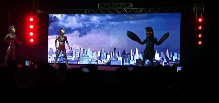 Show do Ultraman no Anime Friends 2018