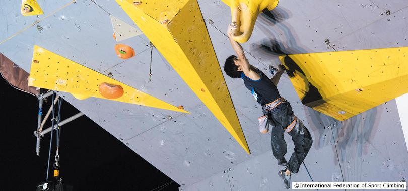 novos esportes olimpicos escalada