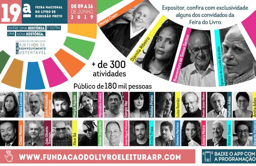 19 feira do livro Ribeirão Preto