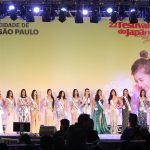 Palco Miss Nikkey Brasil 2019