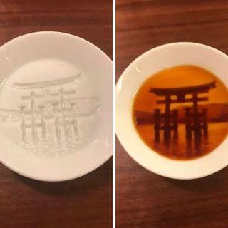 pratos com pintura escondida_torii