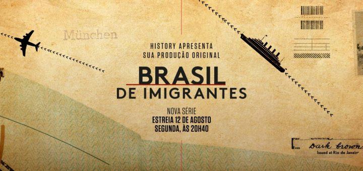 Documentário Brasil de Imigrantes estreia no canal History