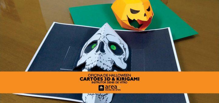 Oficinas de arte Halloween na AreaE