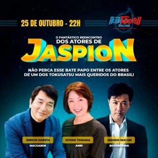 reencontro dos atores de Jaspion