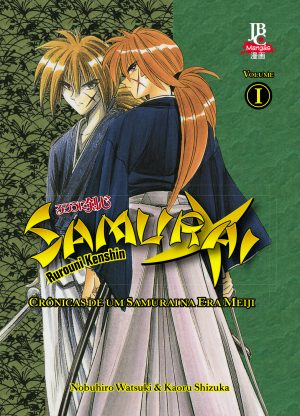 capa de Samurai X - Crônicas de um samurai na Era Meiji Volume 1