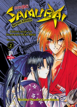 capa de Samurai X – Crônicas de um Samurai na Era Meiji Volume 2