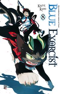 capa de Blue Exorcist #08