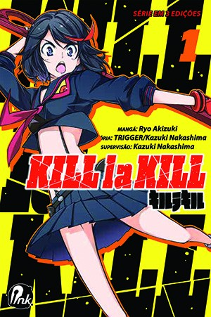 capa de Kill la Kill #01