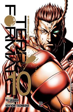 capa de Terra Formars #10