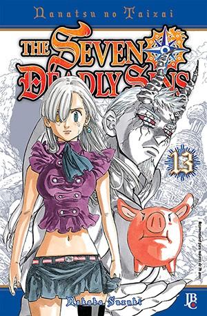capa de The Seven Deadly Sins #13