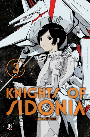 capa de Knights of Sidonia #03