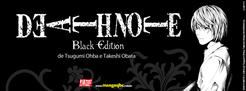 Mang Death Note Black Edition saiba tudo sobre a cole o – Death Note