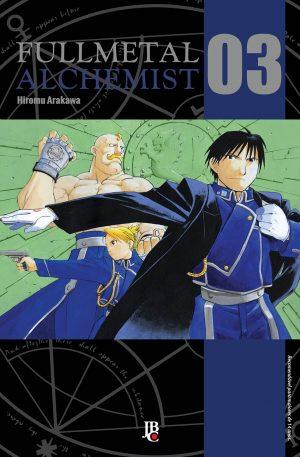 capa de Fullmetal Alchemist ESP. #03