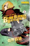 capa de Blood Blockade Battlefront #05