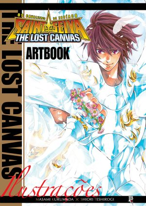 capa de CDZ - The Lost Canvas Artbook