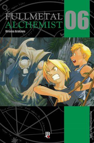 capa de Fullmetal Alchemist ESP. #06