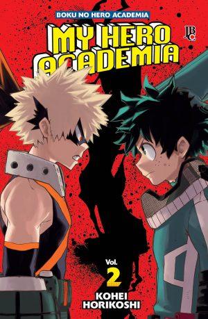 capa de My Hero Academia #02