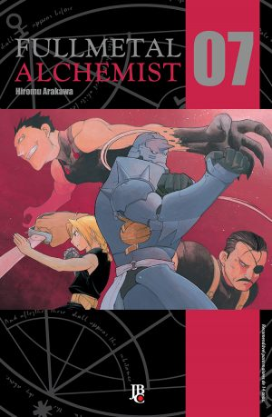 capa de Fullmetal Alchemist ESP. #07