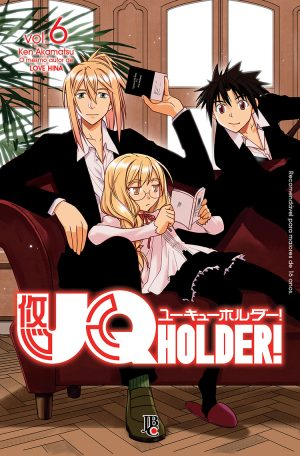 capa de UQ Holder #06