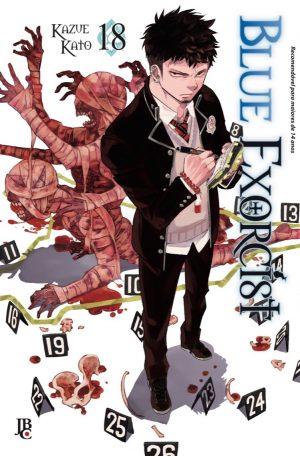 capa de Blue Exorcist #18